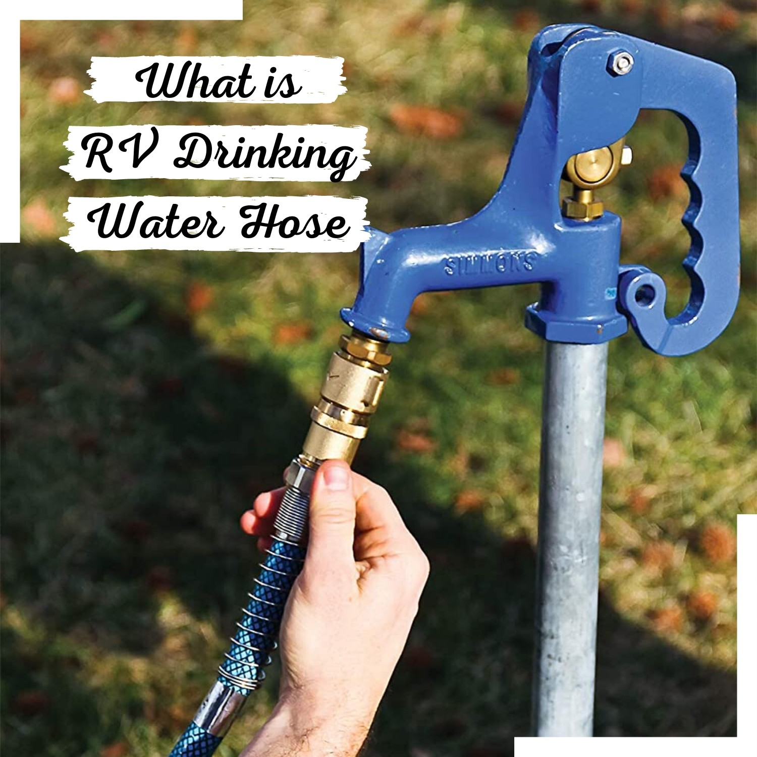 What is RV drinking water hose
