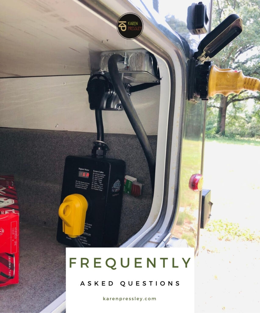 best lock for a rv surge protector