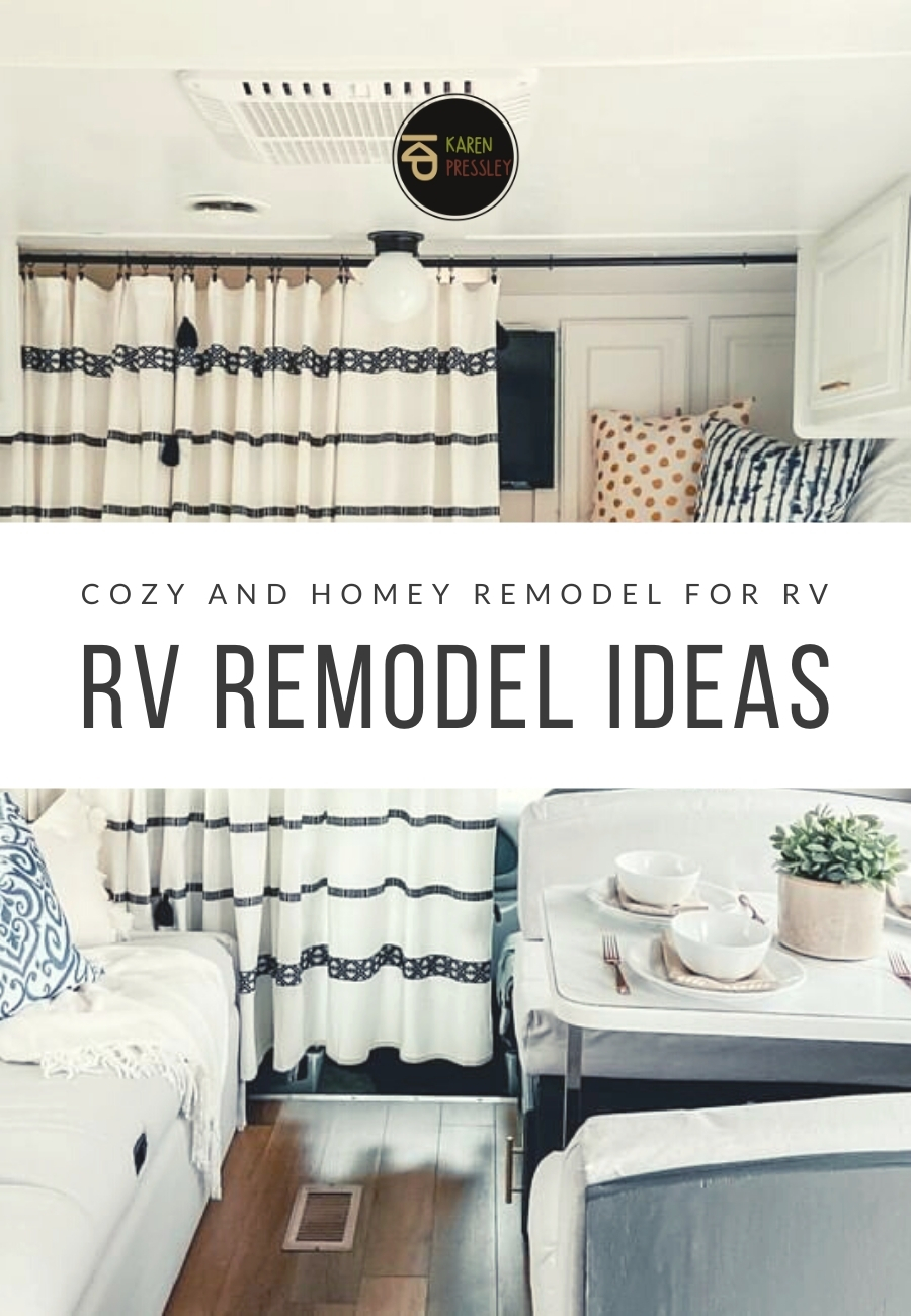 RV Remodel Ideas (Cozy and Homey Remodel for RV)
