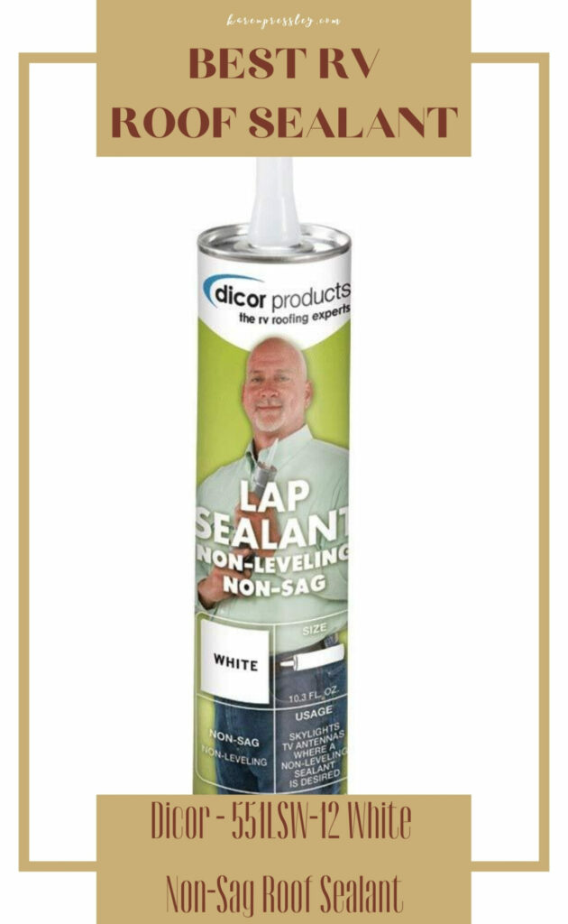 best sealant for flat rv roof