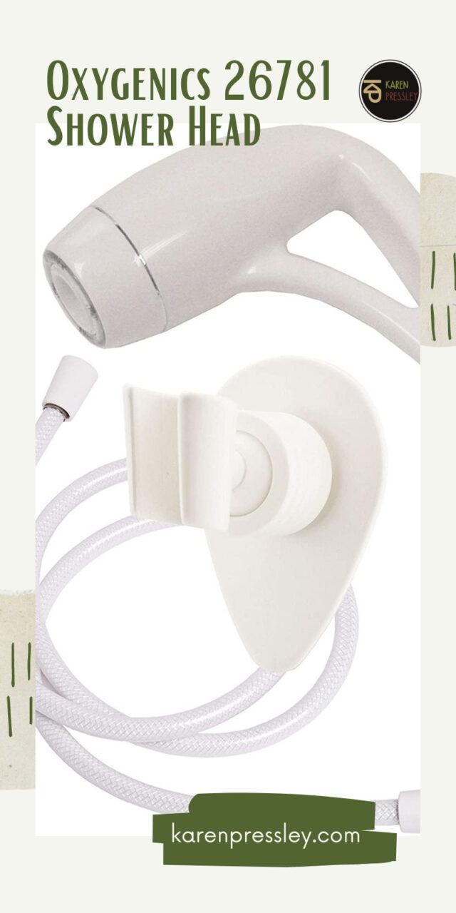 best shower head for external rv shower box