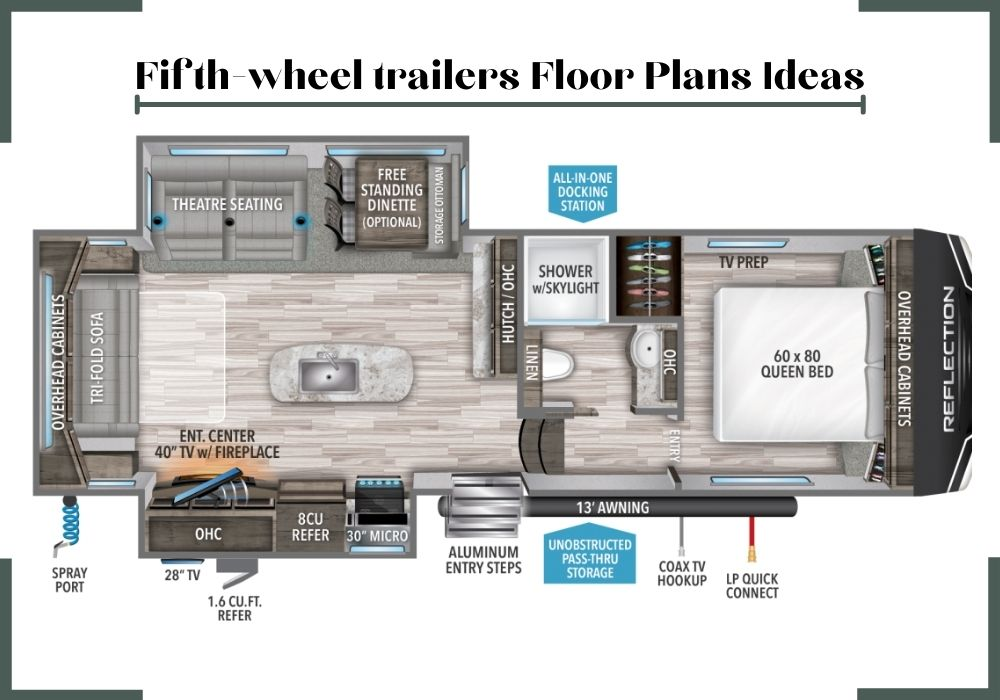 pleasure way rv floor plans