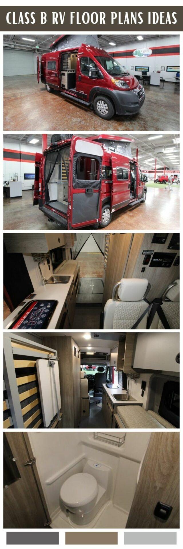 rv garage with living quarters floor plans