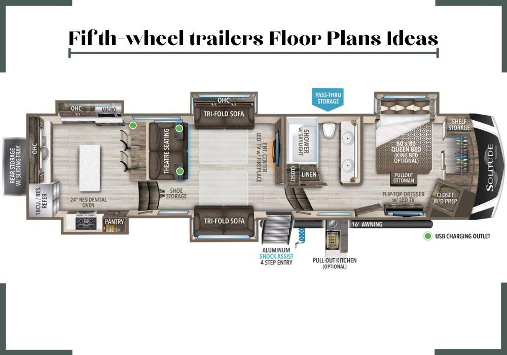 aspen trail rv floor plans