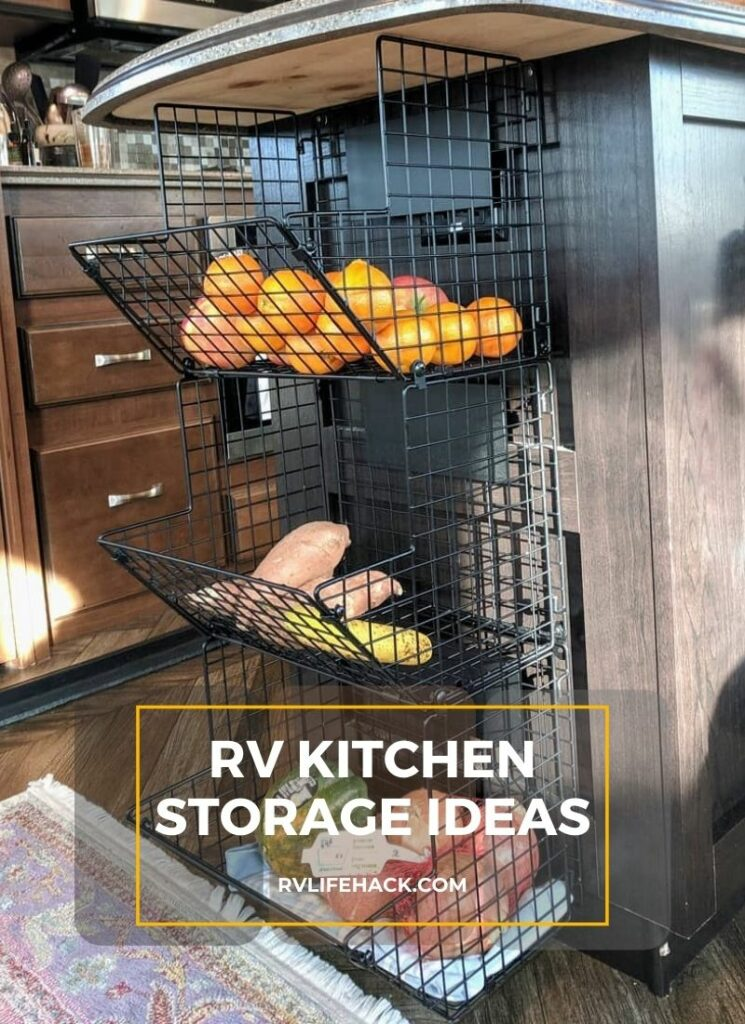 storage ideas for rv interiors