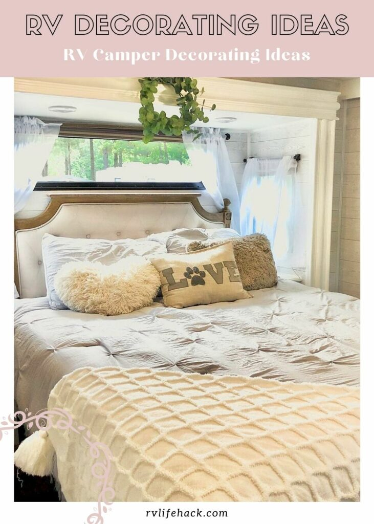 ideas for decorating inside an rv