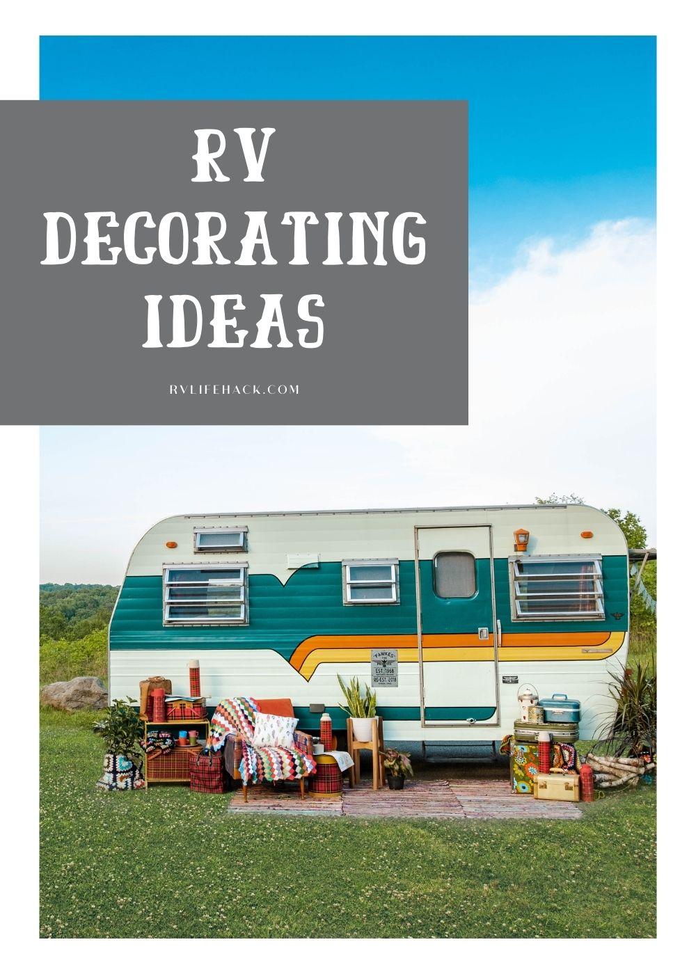 40+ RV Decorating Ideas 2021: Remodelling Camper Exterior