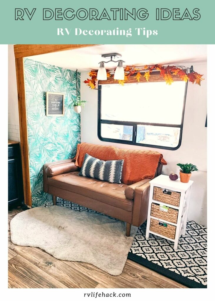 rv campsite decorating ideas