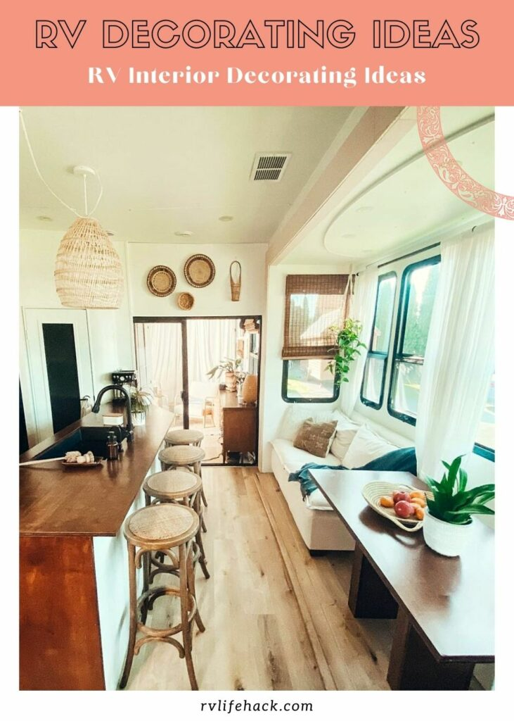 rv decorating the outside ideas