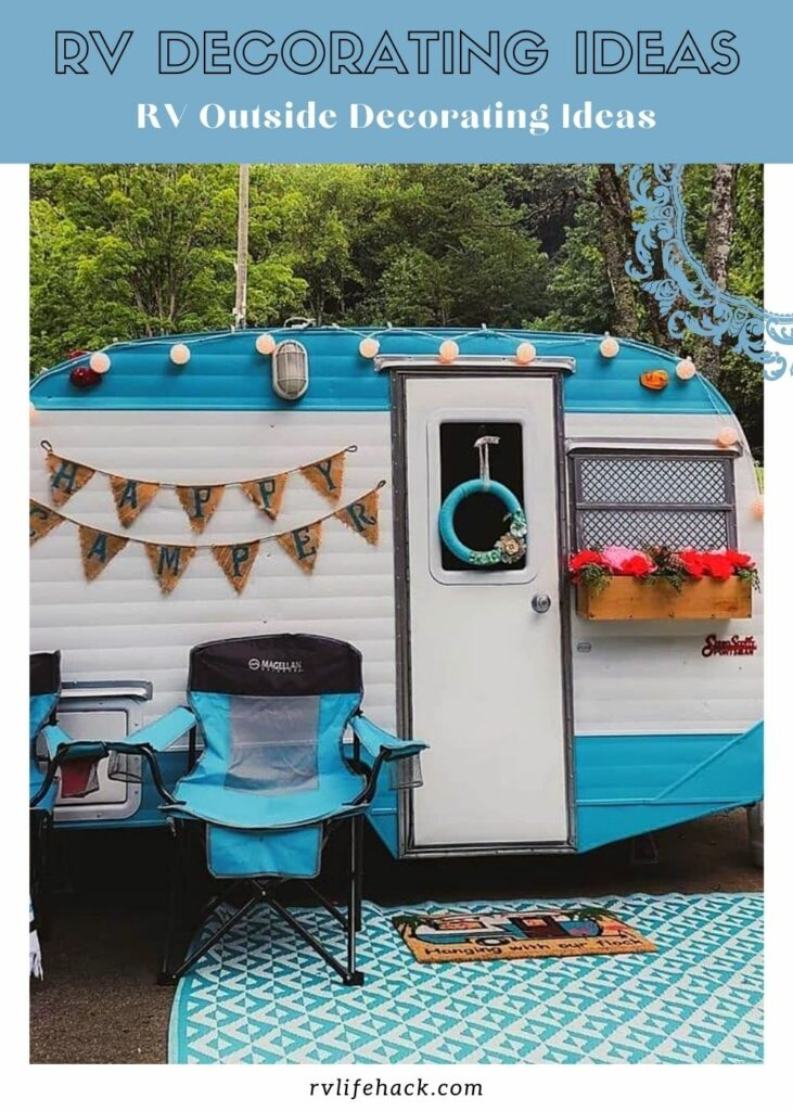 outdoor rv decorating ideas