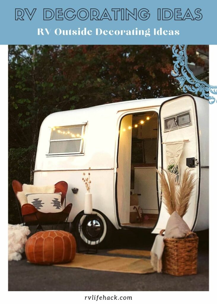 rv outdoor side patio decorating ideas