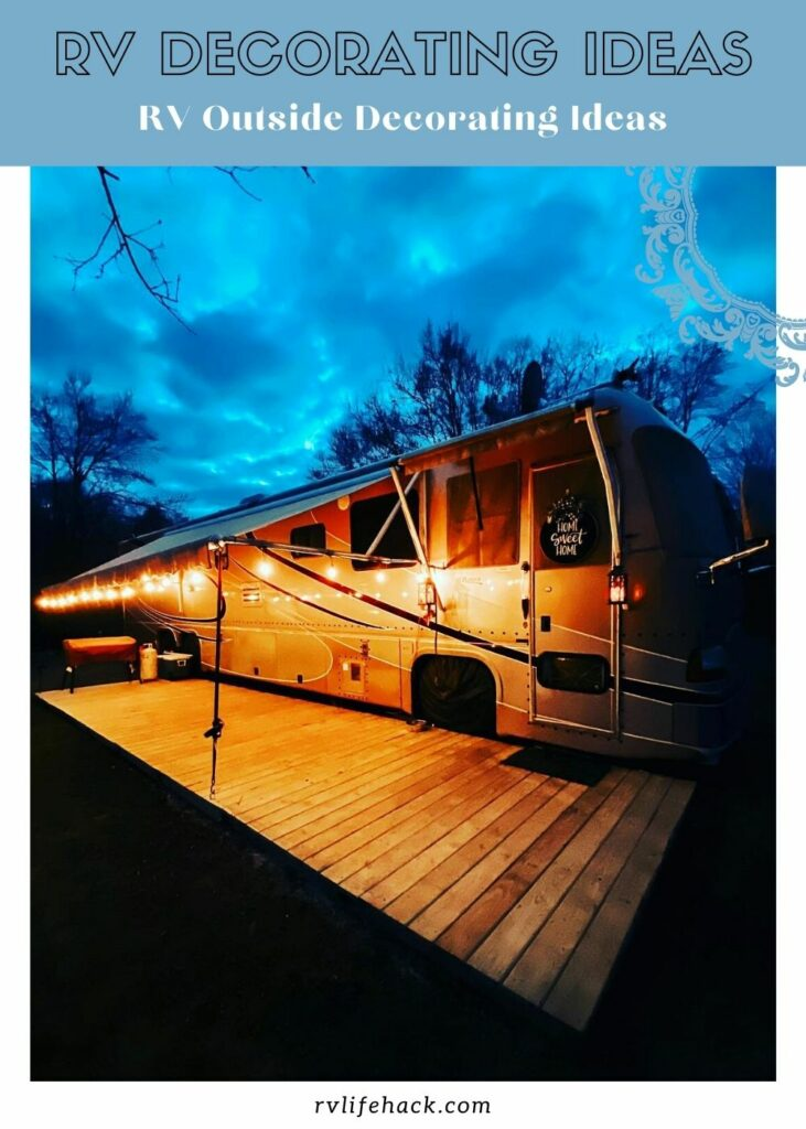fleetwood rv decorating ideas