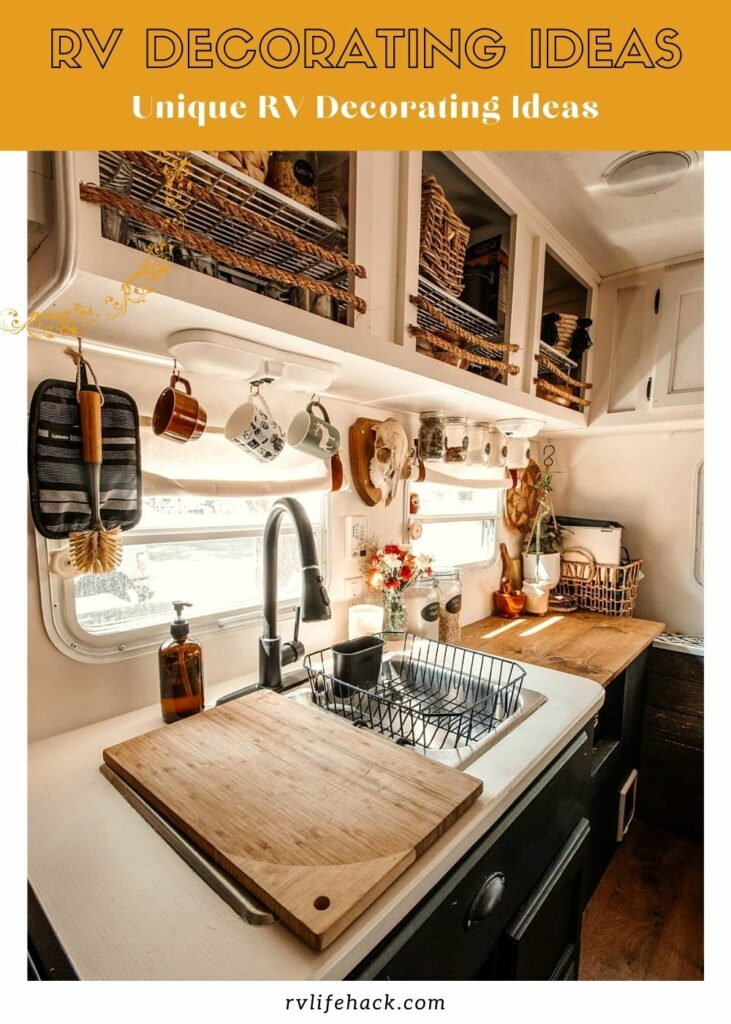 rv decorating ideas for outside