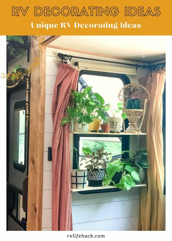class a decorating ideas rv