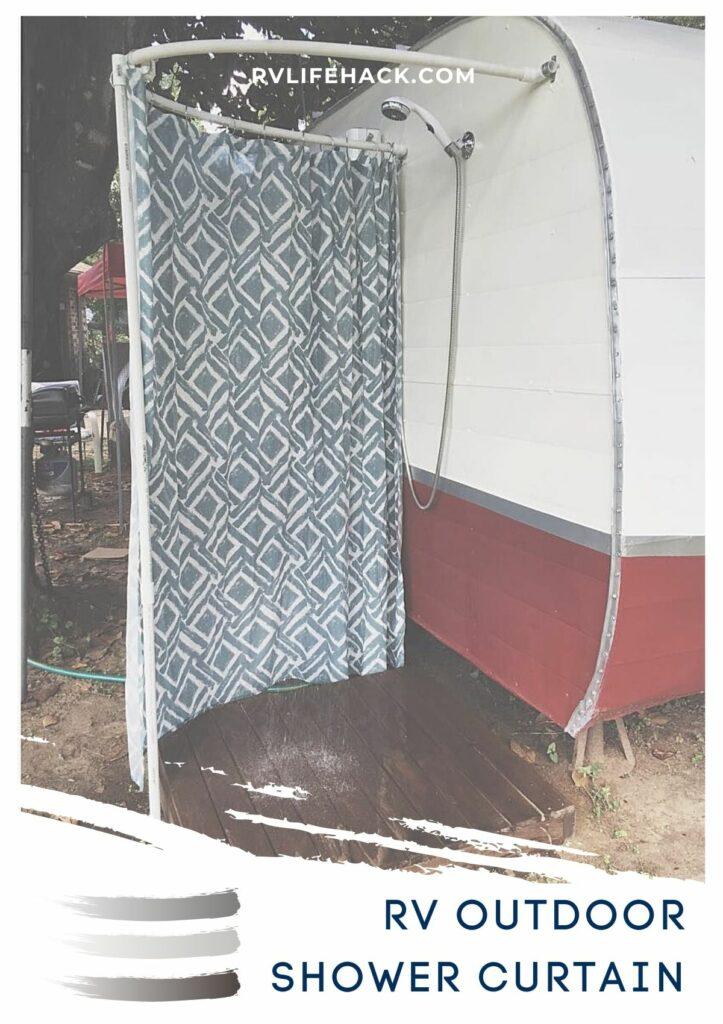rv shower curtain kit