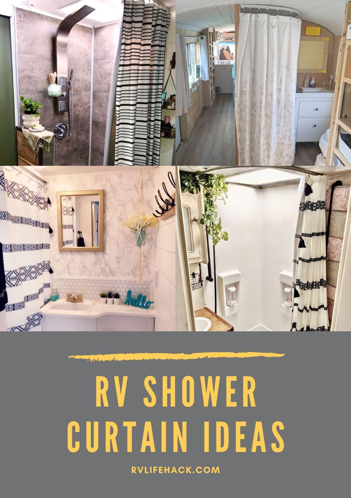 RV Shower Curtain Ideas (RV Outdoor Shower Curtain)