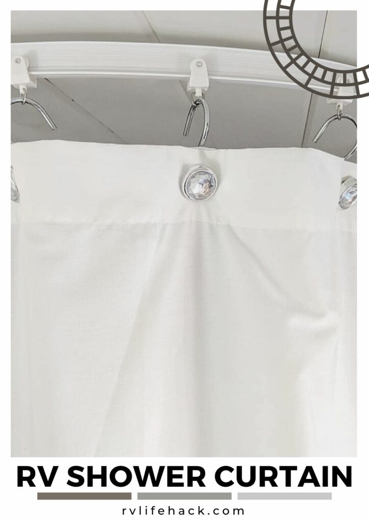 rv outdoor shower curtain