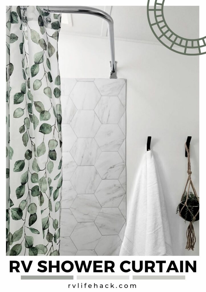 pop up rv shower curtain