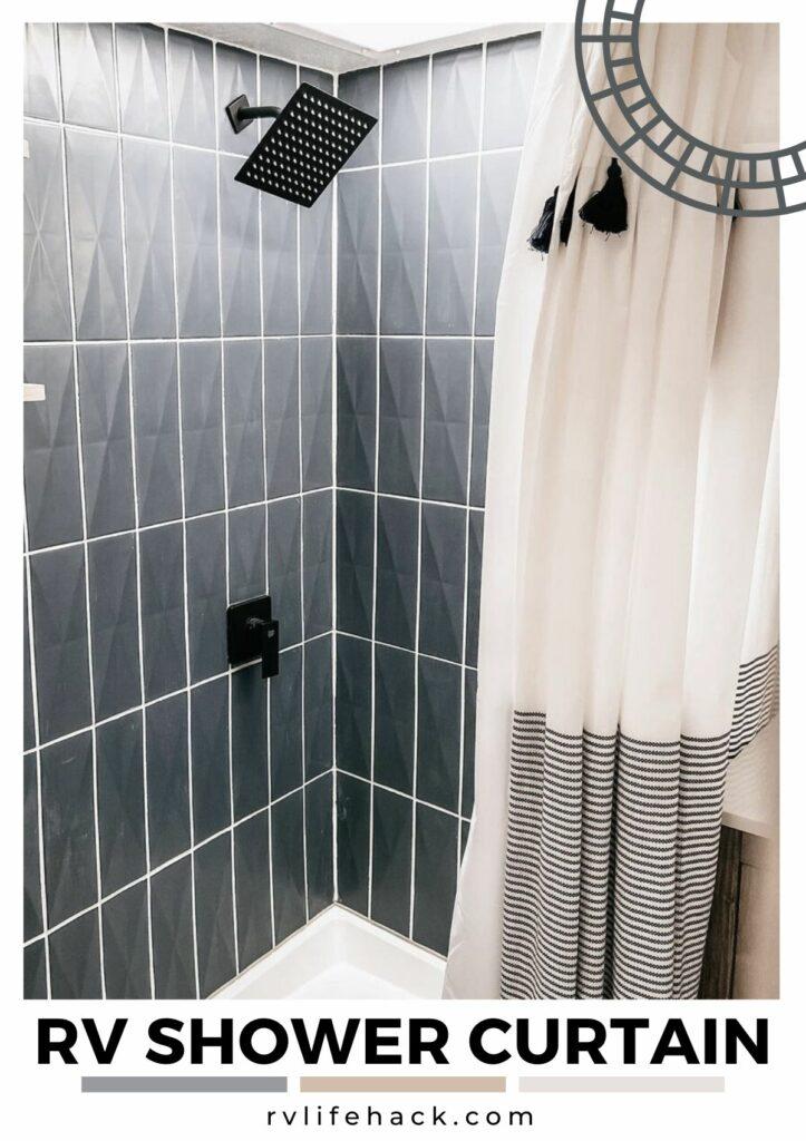 rv shower curtain liner