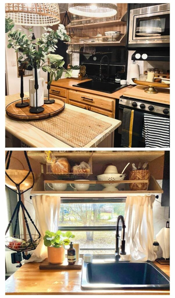 rv renovation before and after