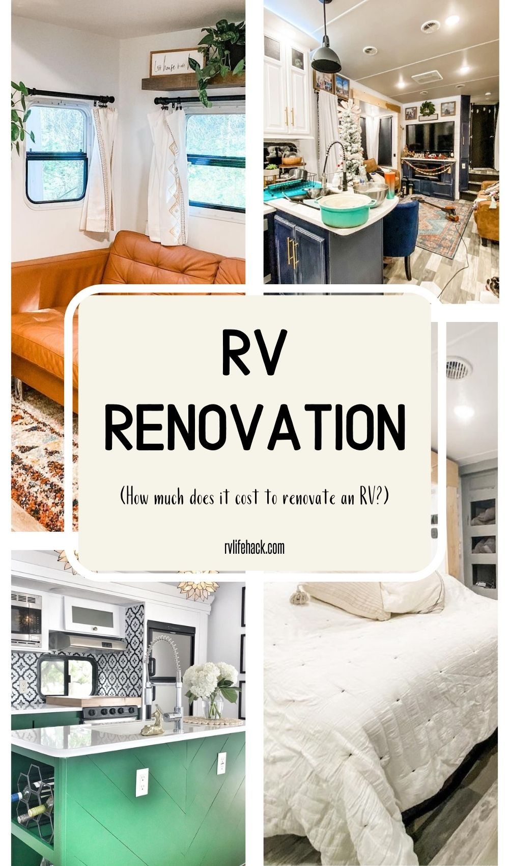 RV Renovation (How much does it cost to renovate an RV?)