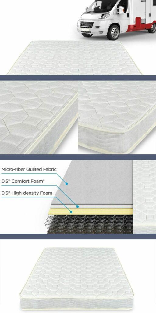 best mattress topper for rv