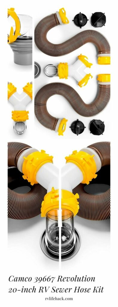 best way to insulate rv sewer hose