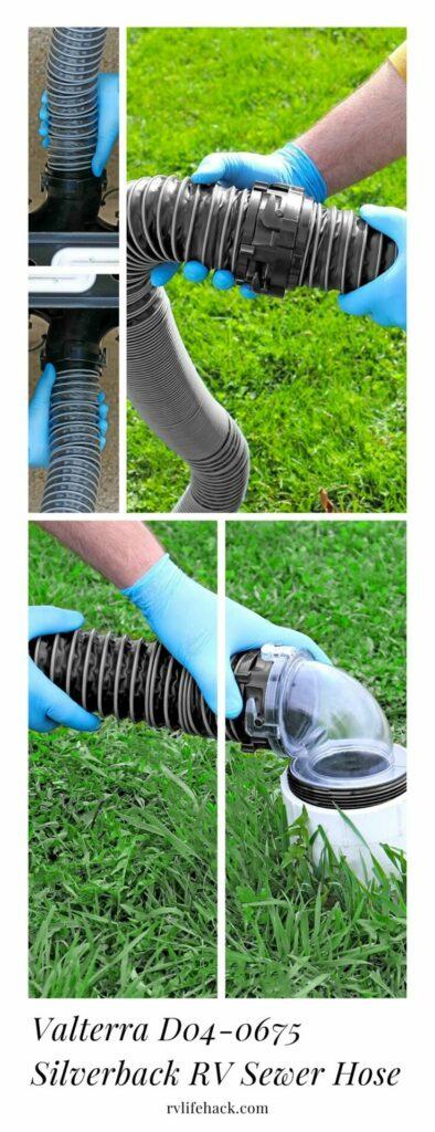 best sewer hose storage for rv