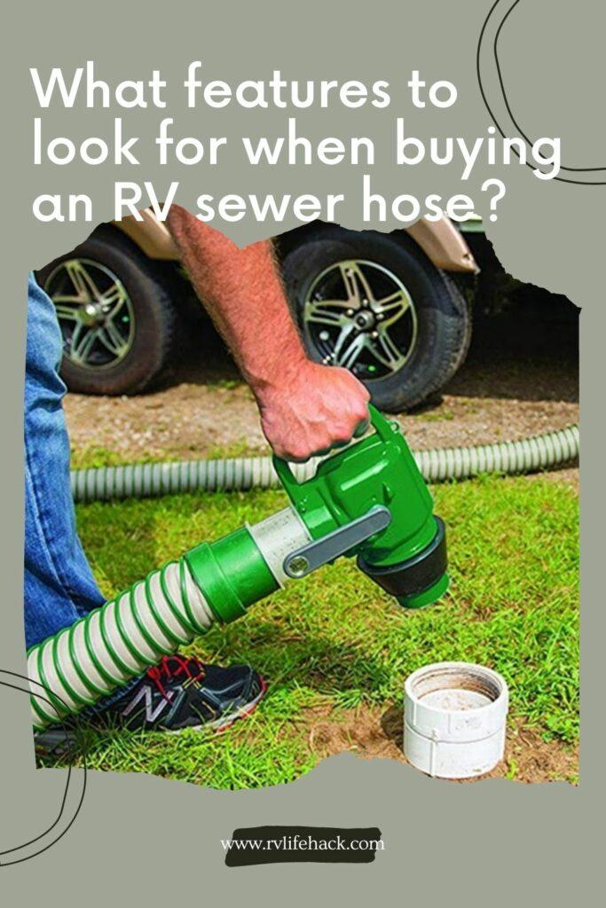 best sewer hose for rv