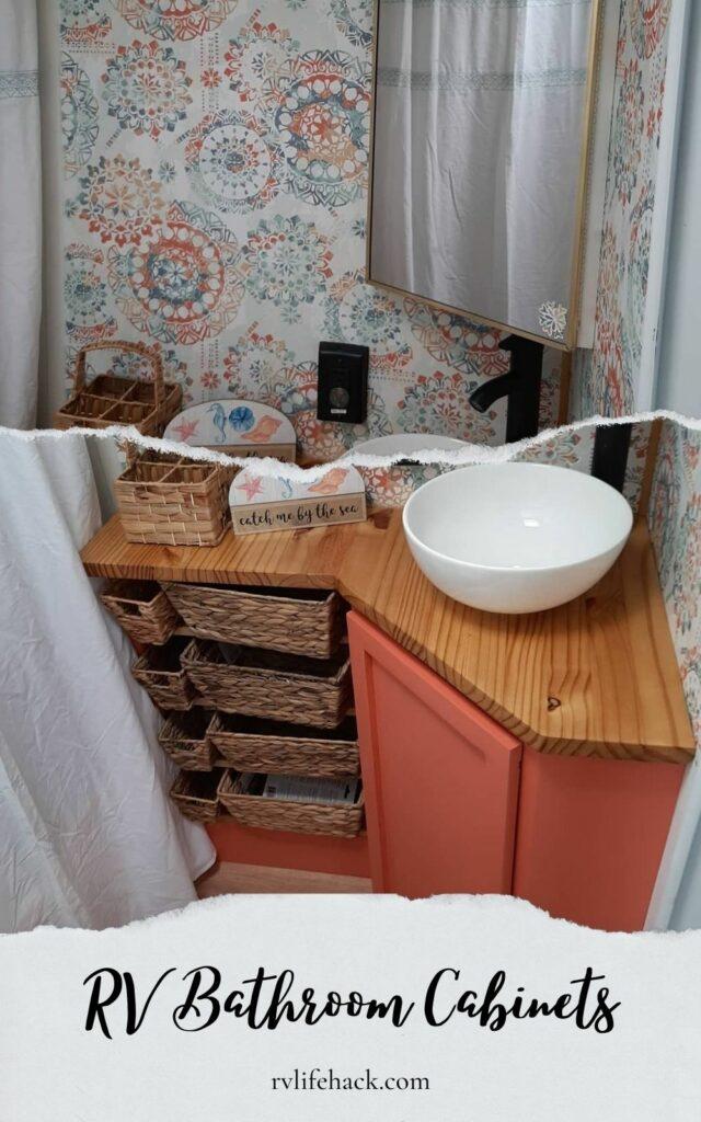 rv bathroom cabinets