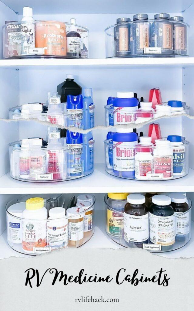 rv medicine cabinets