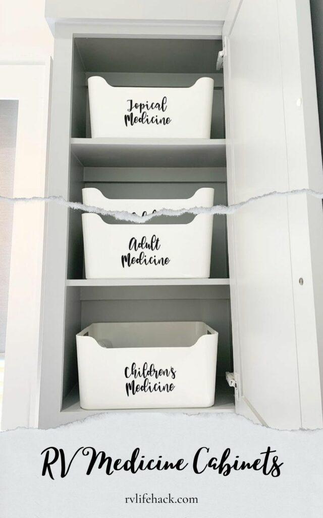 rv waterproof rv medicine cabinets