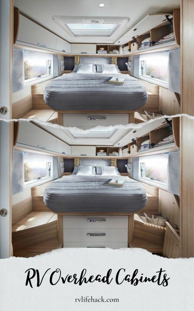 overhead storage cabinets rv