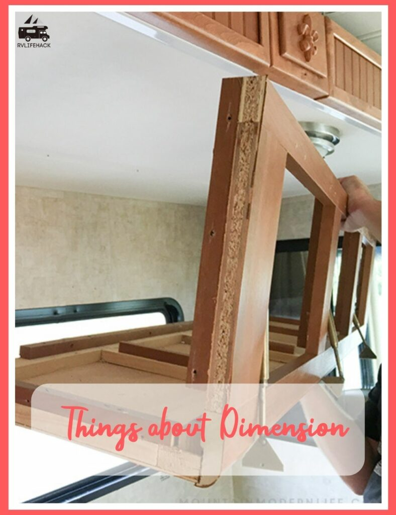 how to build rv dash cabinets