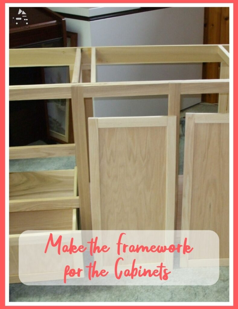how to build rv wall cabinets