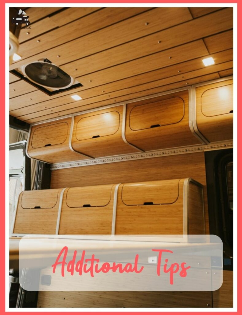 how to build lightweight rv cabinets
