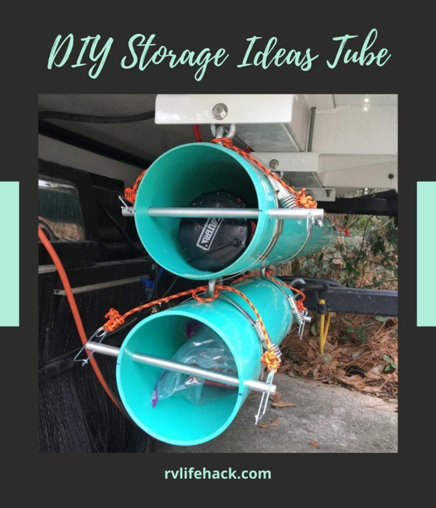rv sewer hose storage tube
