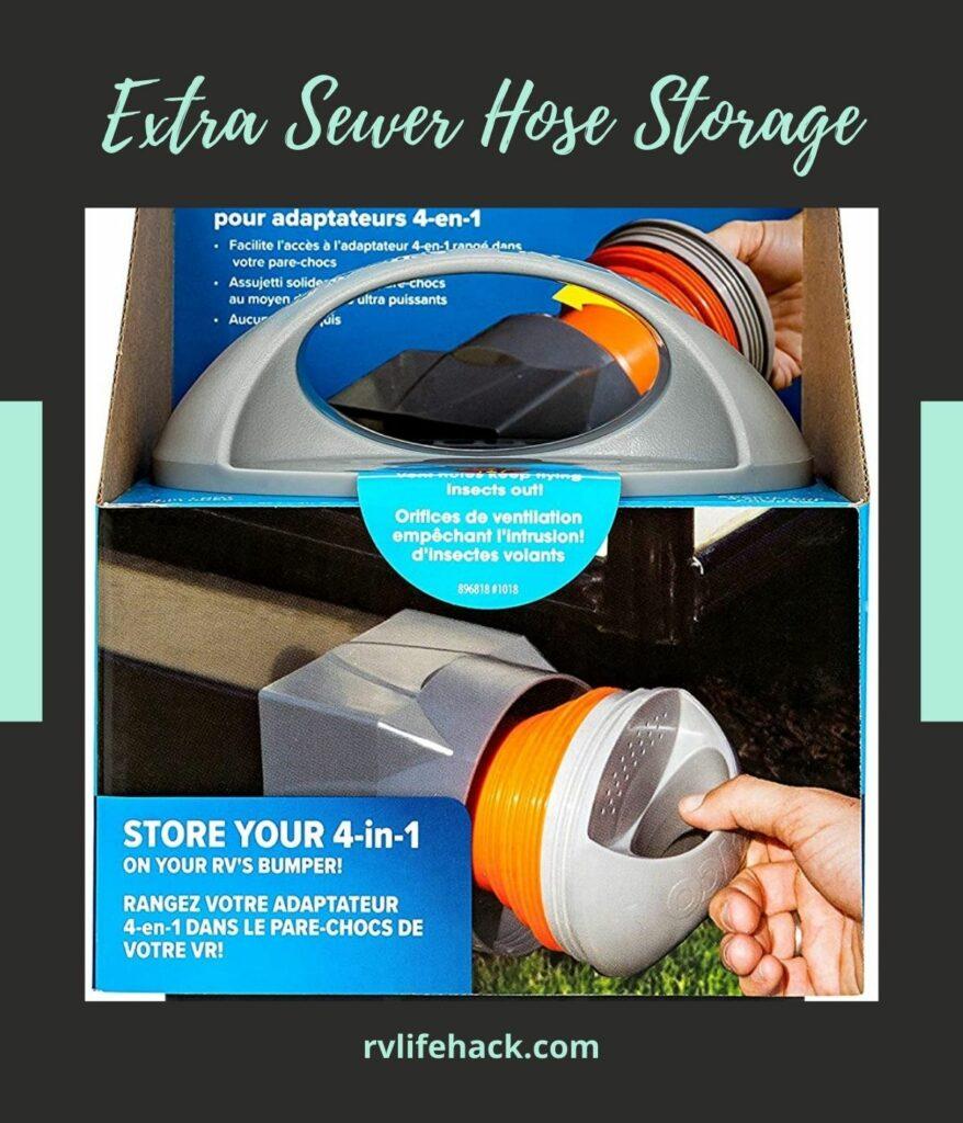 sewer hose storage rv