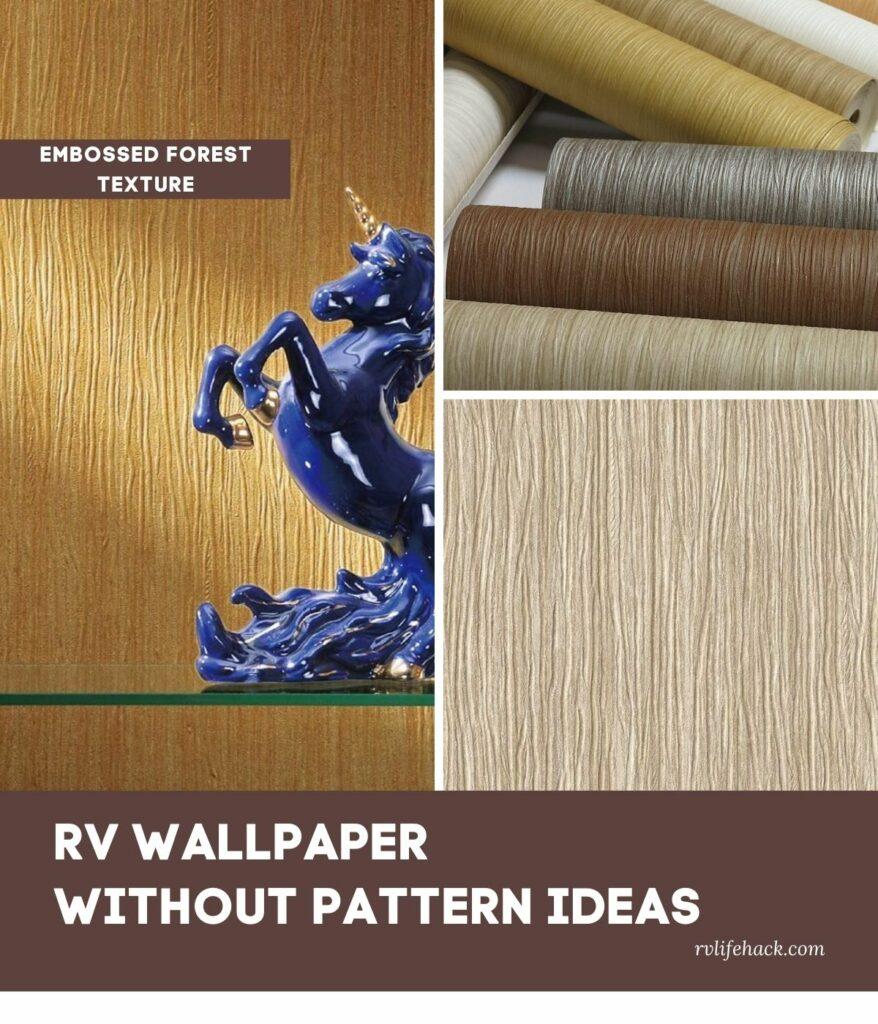 rv wallpaper repair