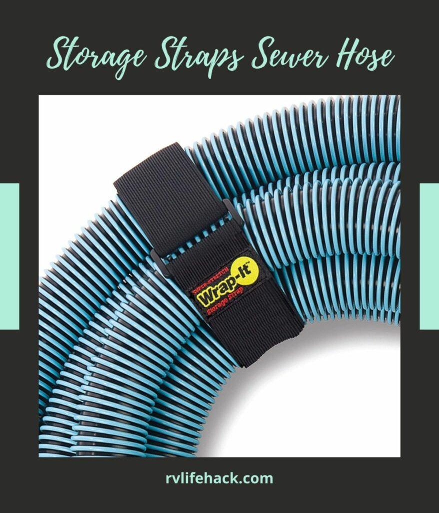 rv sewer hose storage box
