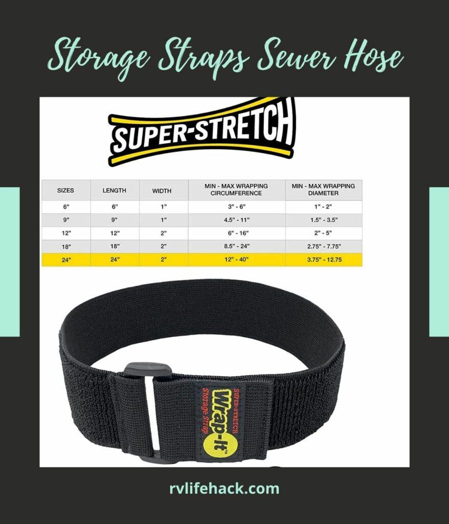 rv sewer hose hard connection storage