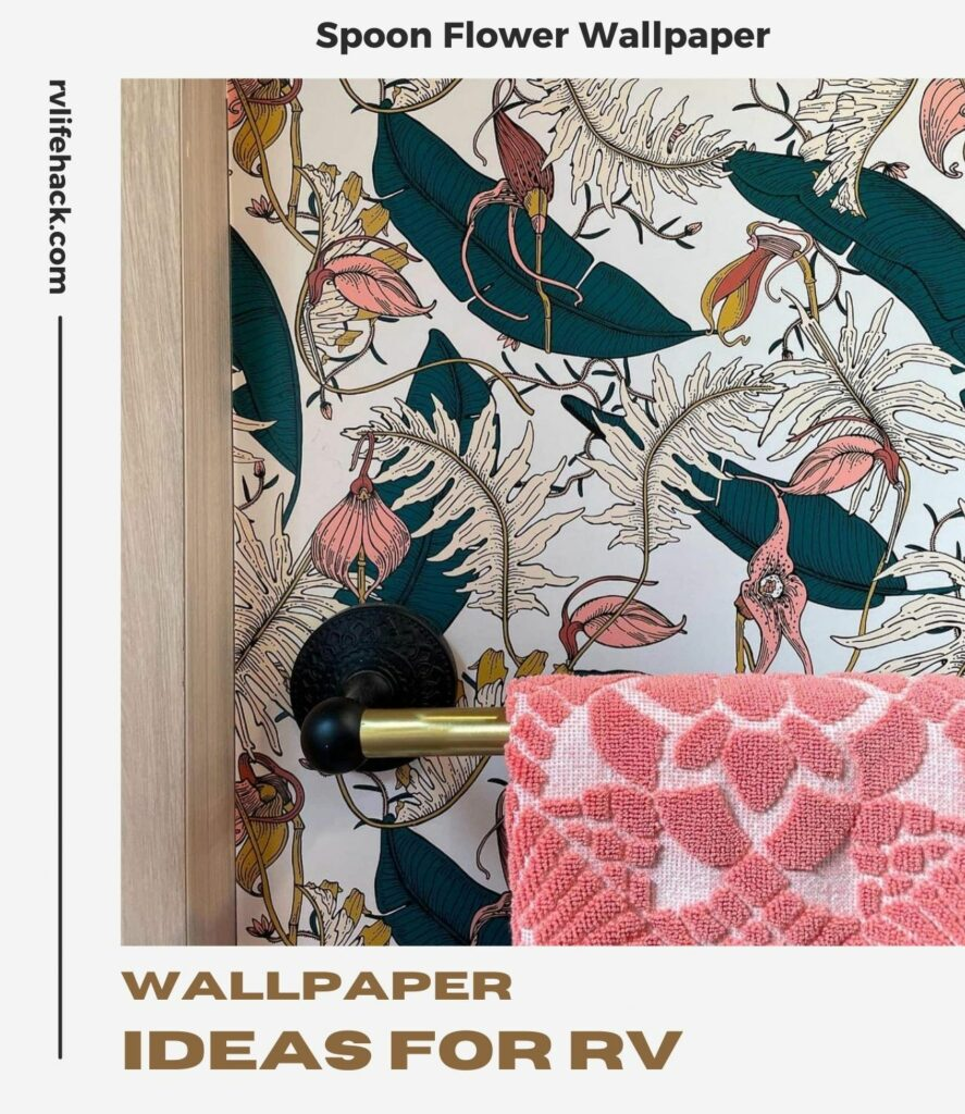 what to do with peeling wallpaper in rv