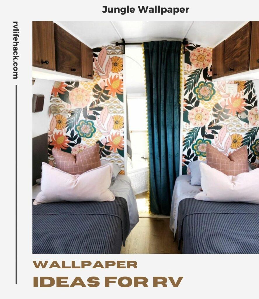 paint vs wallpaper rv
