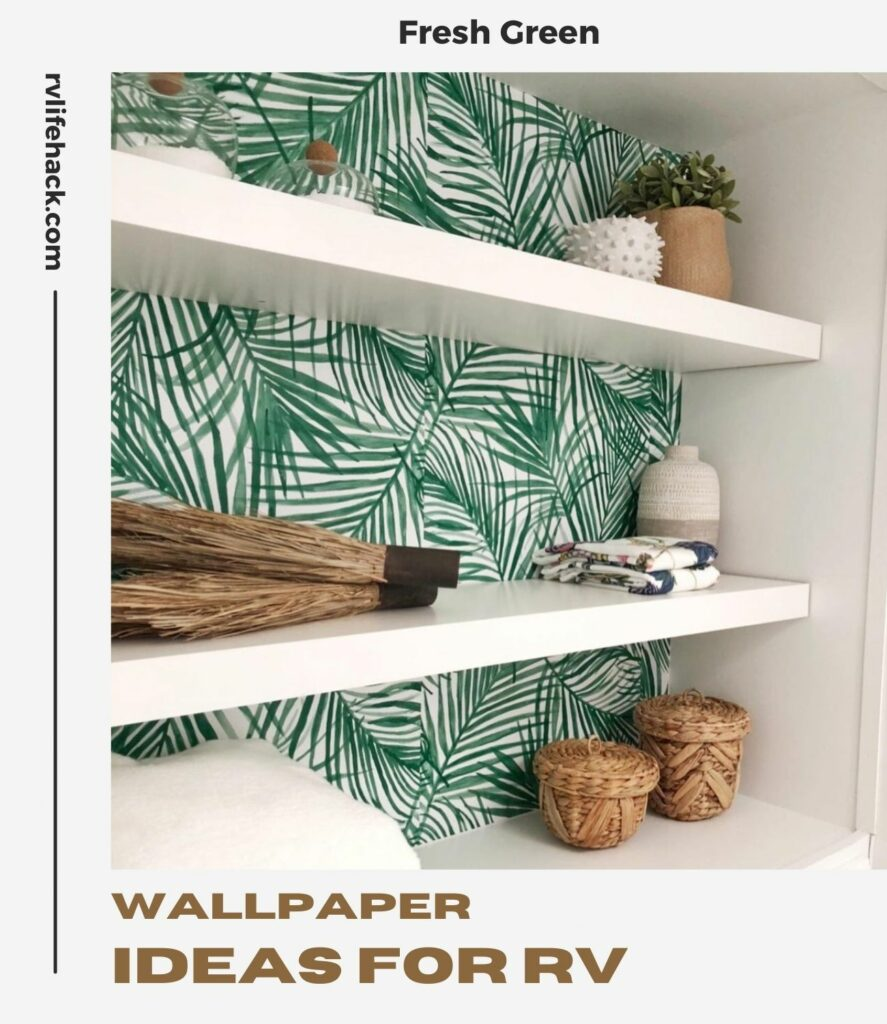how to wallpaper curvedwall in rv